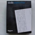 Amazon Kindle Paperwhite を使ってみたのでレビュー